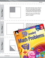 Geometry Leveled Problems: Parts of Shapes