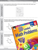 Geometry Leveled Problems: Quadrilaterals and Triangles