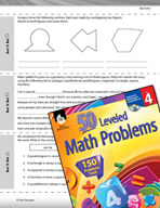 Geometry Leveled Problems: Sorting Geometric Figures