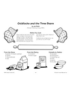 Goldilocks and the Three Bears - Dressed-Up Porridge Recipe