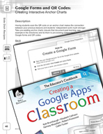 Google Forms and QR Codes - Creating Interactive Anchor Charts