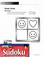 Grade 1 Easy Sudoku Puzzles 1–5