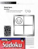 Grade 1 Easy Sudoku Puzzles 11–15