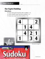 Grade 1 Hard Sudoku Puzzles 31–35