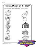 Grade 1 Matching Critical Thinking Activities