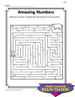 Grade 1 Mazes