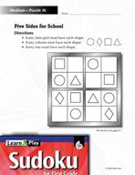 Grade 1 Medium Sudoku Puzzles 16–20