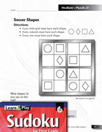Grade 1 Medium Sudoku Puzzles 21–25