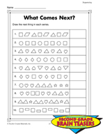 Grade 2 Sequencing Critical Thinking Activities