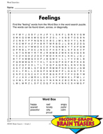 Grade 2 Word Search Puzzles