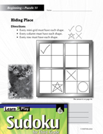 Grade 3 Easy Sudoku Puzzles 11–15