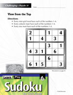 Grade 3 Hard Sudoku Puzzles 31–35