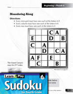 Grade 4 Easy Sudoku Puzzles 6–10