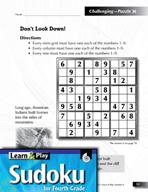 Grade 4 Hard Sudoku Puzzles 36–40