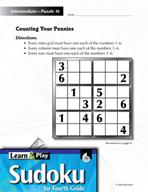 Grade 4 Medium Sudoku Puzzles 16–20