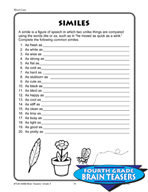 Grade 4 Word Lists Critical Thinking Activities (Set 2)