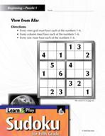 Grade 5 Easy Sudoku Puzzles 1–5