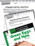 Green Eggs and Ham Language Learning Activities (Great Works Series)