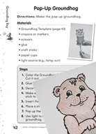 Groundhog Day Puzzles and Activities (K–2)