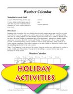 Groundhog Day Weather Calendar