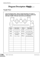 Guided Math Stretch: Diagram Description