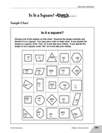 Guided Math Stretch: Is It a Square?