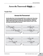 Guided Math Stretch: Lines - Across the Transversal