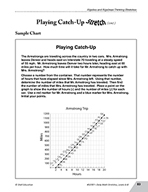 Guided Math Stretch: Systems of Equations - Playing Catch-Up