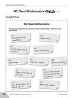 Guided Math Stretch: We Need Mathematics