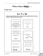 Guided Math Stretch: Write a Number Story