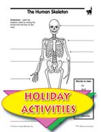 Halloween Activities -  Funnybones Literature Unite and The Human Skeleton