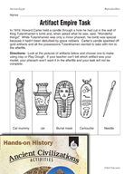 Hands-On History - Ancient Egypt