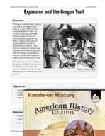 Hands-On History - Expansion and the Oregon Trail