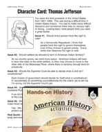 Hands-On History - Jeffersonian Period