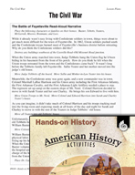 Hands-On History - The Civil War