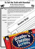 Hannibal Reader's Theater Script and Lesson