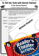 Harriet Tubman Reader's Theater Script and Lesson