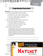 Hatchet Comprehension Assessment (Great Works Series)