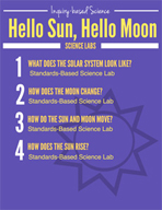 Hello Sun, Hello Moon Inquiry Science Labs