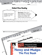 Henry and Mudge: The First Book Close Reading and Text-Dep