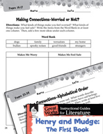 Henry and Mudge: The First Book Making Cross-Curricular Co