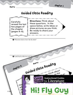 Hi! Fly Guy Close Reading and Text-Dependent Questions (Gr