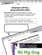 Hi! Fly Guy Language Learning Activities (Great Works Series)