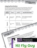 Hi! Fly Guy Leveled Comprehension Questions (Great Works Series)