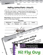 Hi! Fly Guy Making Cross-Curricular Connections (Great Works Series)