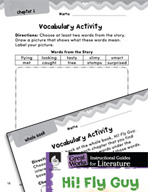 Hi! Fly Guy Vocabulary Activities (Great Works Series)