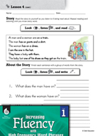 High Frequency Word Phrases Level 1 - Phrase Chunks