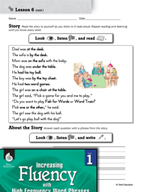 High Frequency Word Phrases Level 1 - Stress