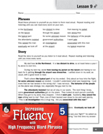 High Frequency Word Phrases Level 5 - Preparing Listeners for Surprise