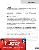 High Frequency Word Phrases Level 5 - Word Variants for Accuracy